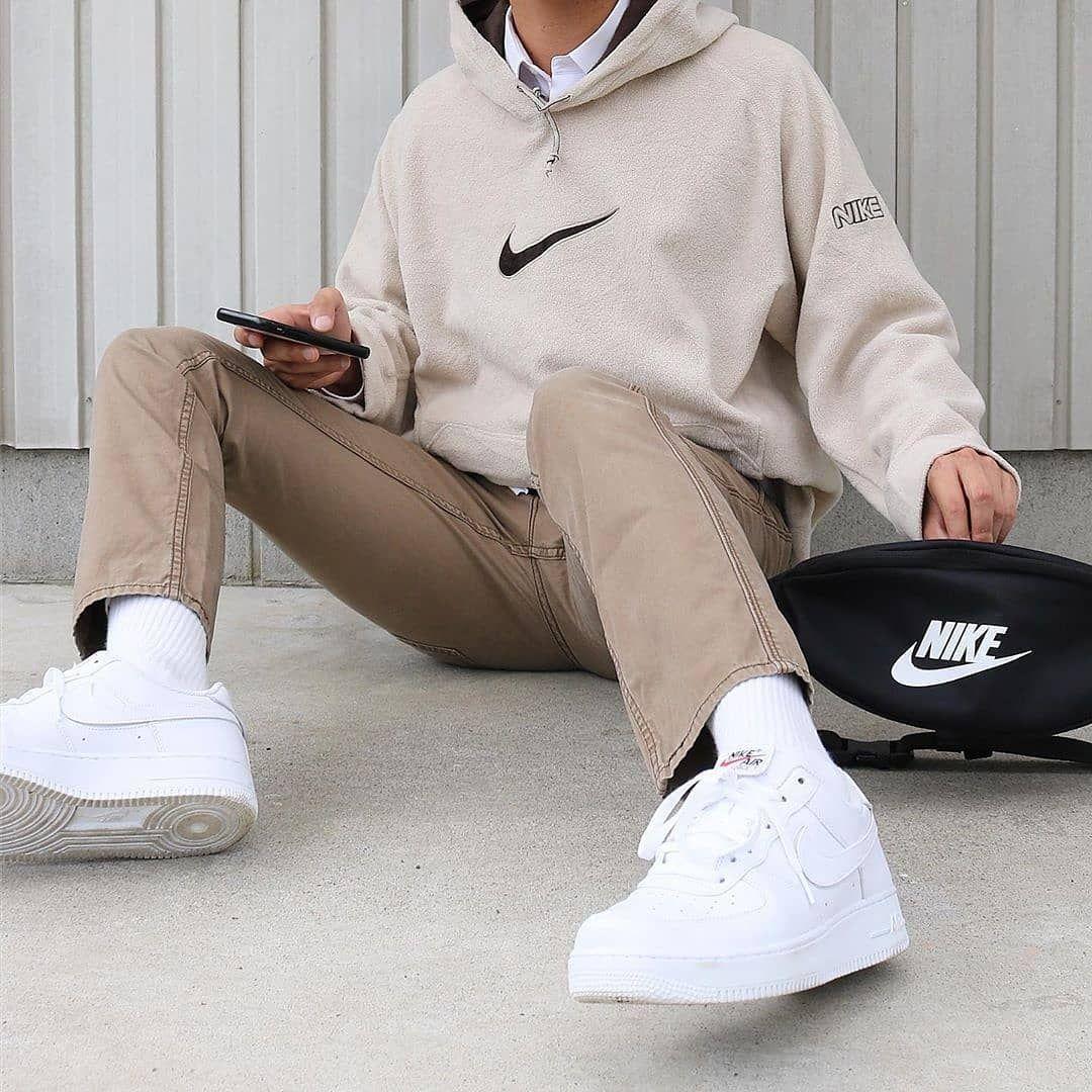 Nike Hoodie Men Streetwear Men Outfits Retro Outfits Streetwear Fashion
