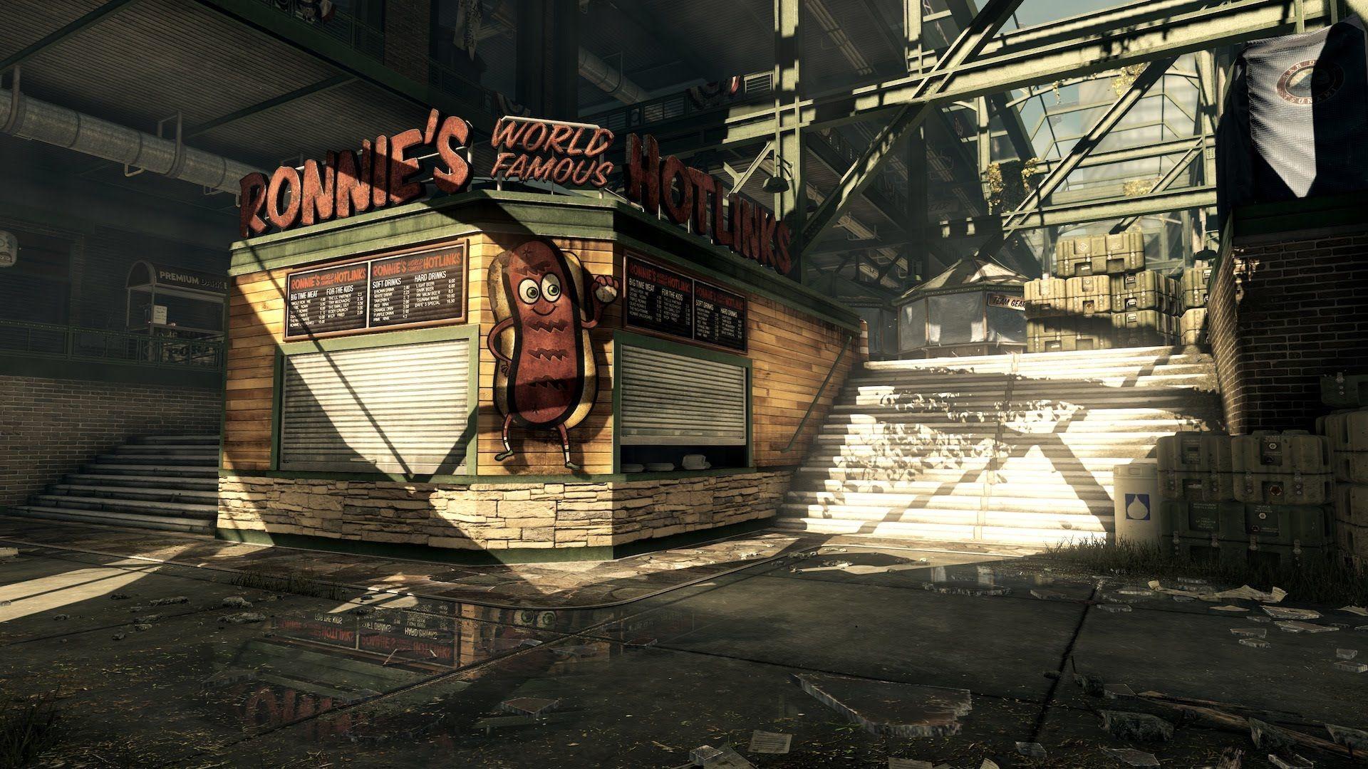 Cod Ghosts Blitz Strikezone Map Multiplayer Gameplay