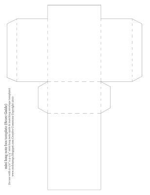 note card envelope template