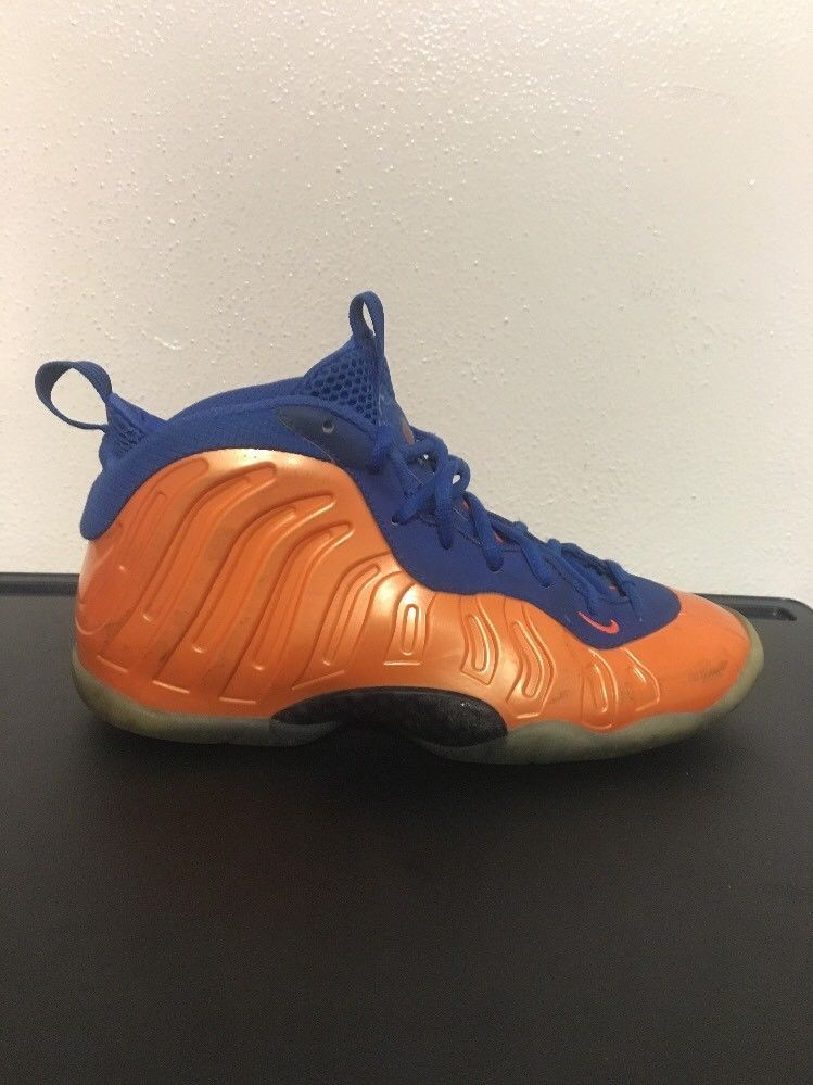 NIKE LIL POSITE ONE GS-FOAMPOSITE 644791-800-YOUTH/WOMENS Sizes 7 NY KNICKS 0