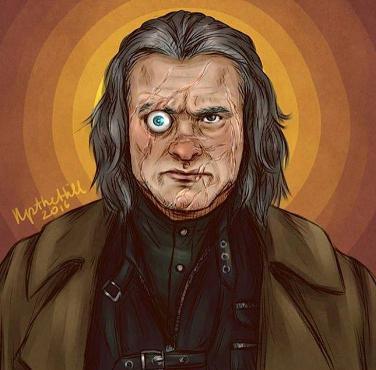 Mad-Eye Moody | Harry potter fan art, Harry potter artwork, Harry potter  characters