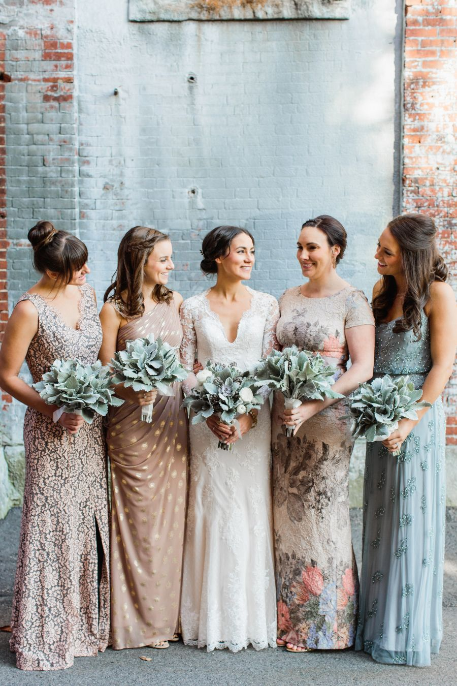 Industrial Chic Meets Boho Beauty for this Fall New England Wedding ...
