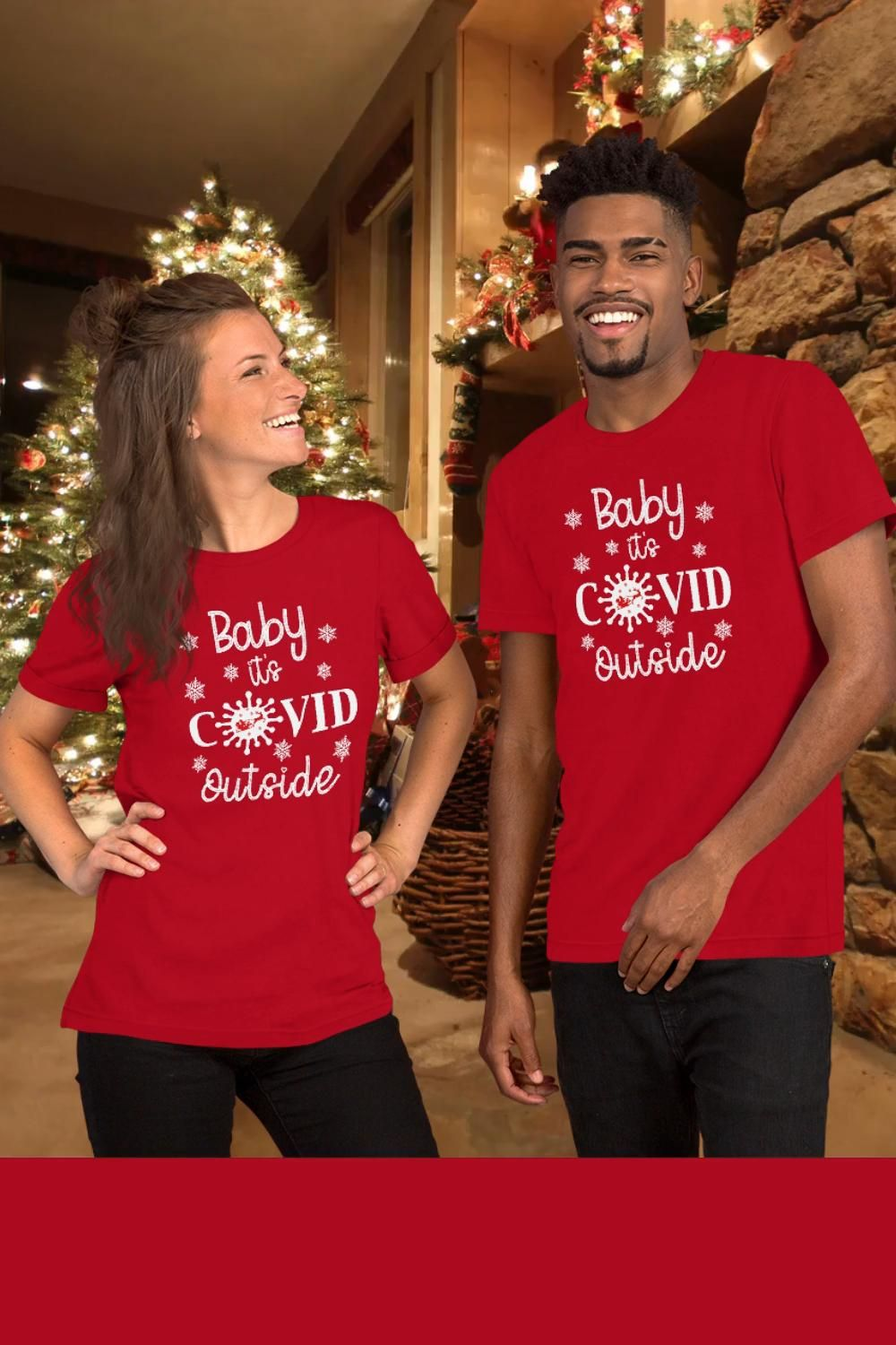 Baby, It's Covid Outside Christmas 2020 T-shirt