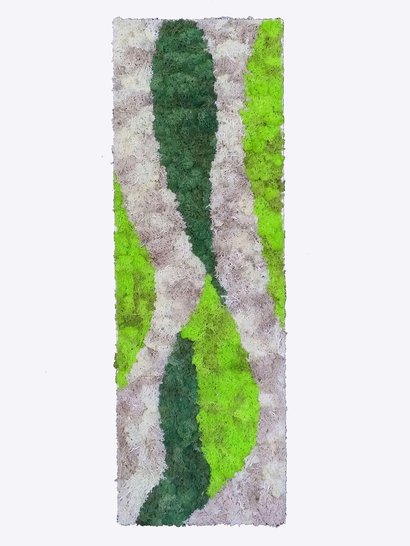 tableau mur v g tal stabilis jungle 90 x 30 cm d corations murales par caly design vegetal. Black Bedroom Furniture Sets. Home Design Ideas