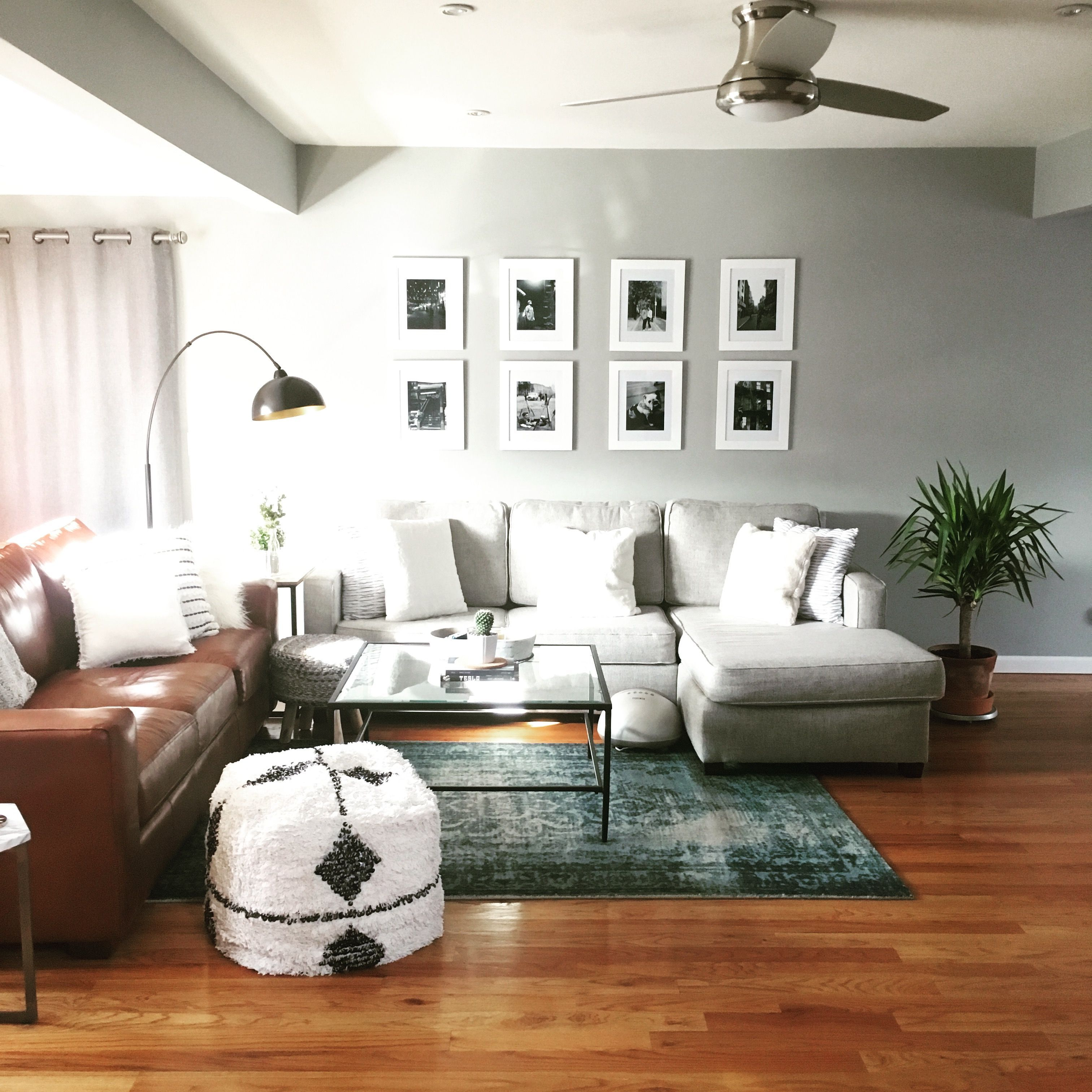 Mid century modern living room style is born in the period between