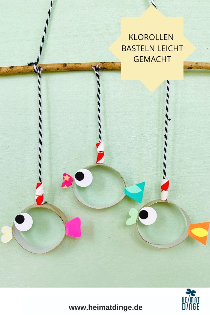 Basteln mit Papprollen: 5 kreative Ideen für Kinder