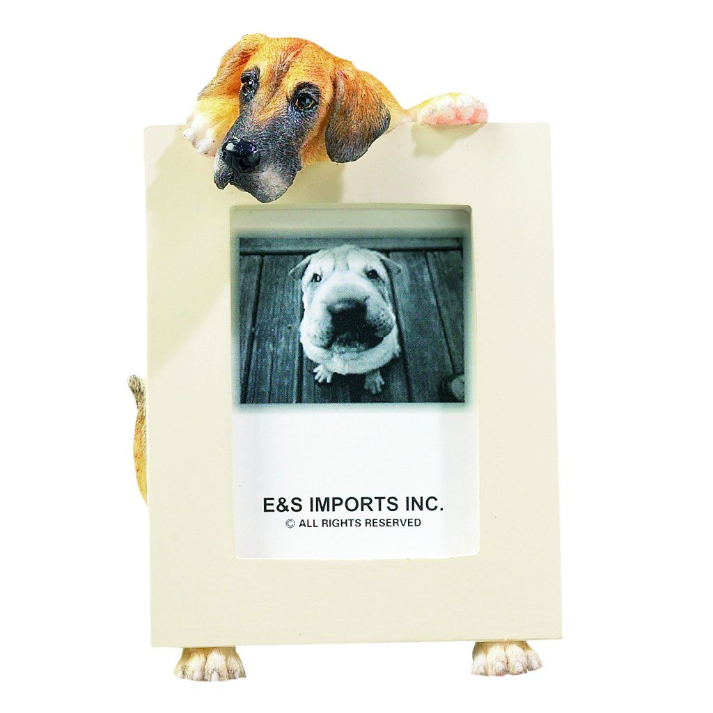 Great Dane Picture Frame Holds Your Favorite 2 5 By 3 5 Inch Photo