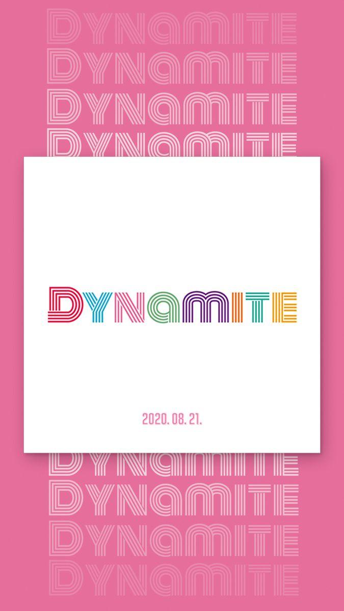 Bts Pre Save Dynamite Bts Wallpaper Album Bts Bts Bts dynamite logo wallpaper