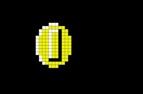 Coin Mario Pixel Art Pixel Art Pixel Art Design Lego Art