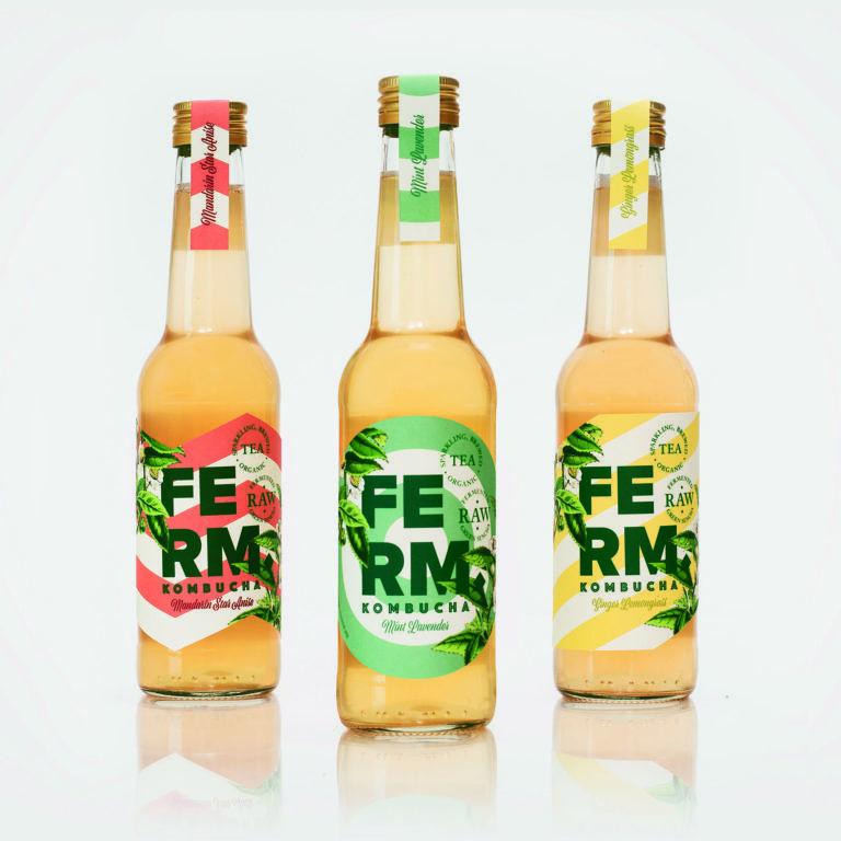 Can You Get Drunk Off Kombucha Ferm Kombucha The Healthiest Soft Drink Available Kombucha Drinks Design Beverage Packaging