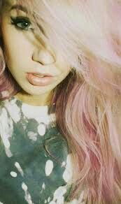 With pastel hair tbh