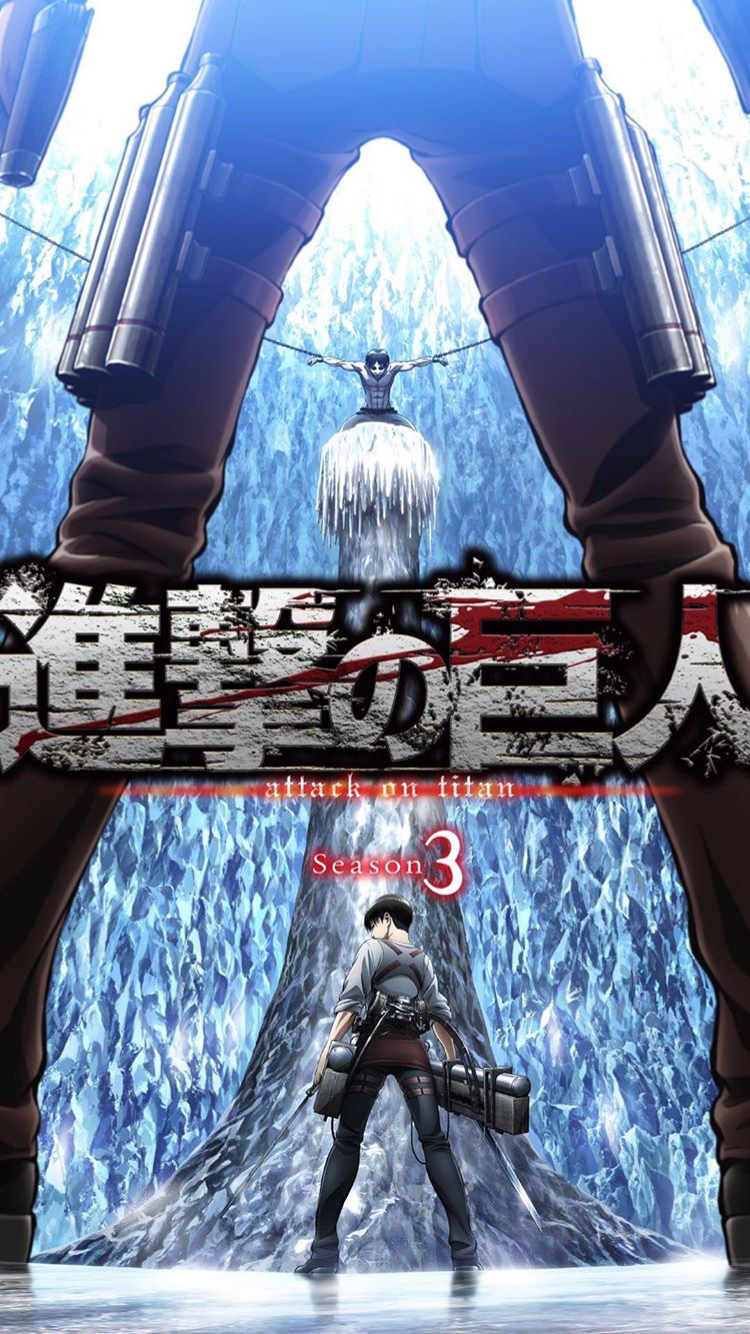 //Season 4 will air in July 2018// Attack on titan anime