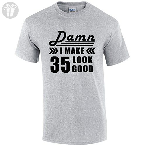 35th Birthday For Men Gift 35 Year Old Man Present T Shirt