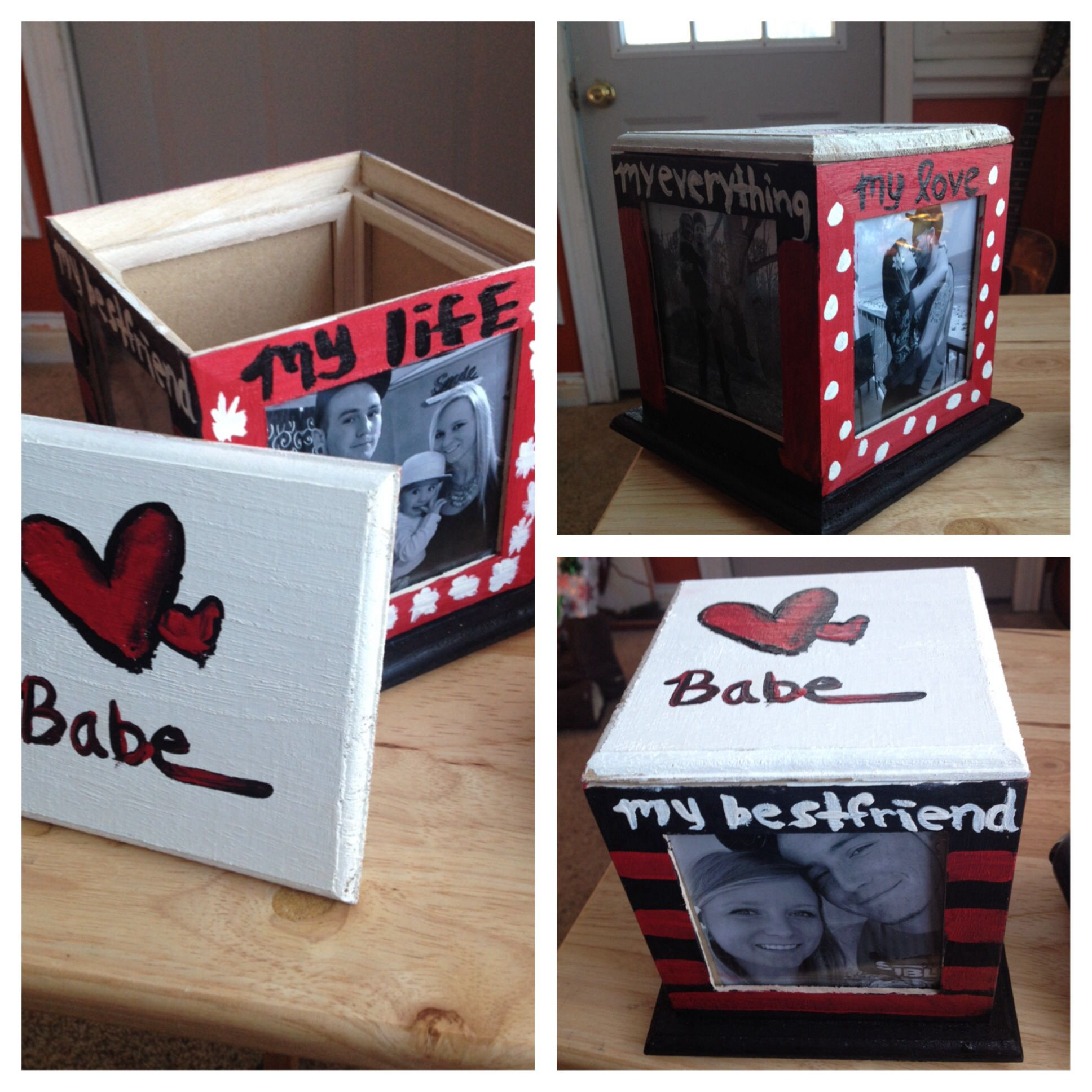 Inexpensive Birthday Gift Ideas: Cheap DIY Present For Boyfriend, Made This For Dan For