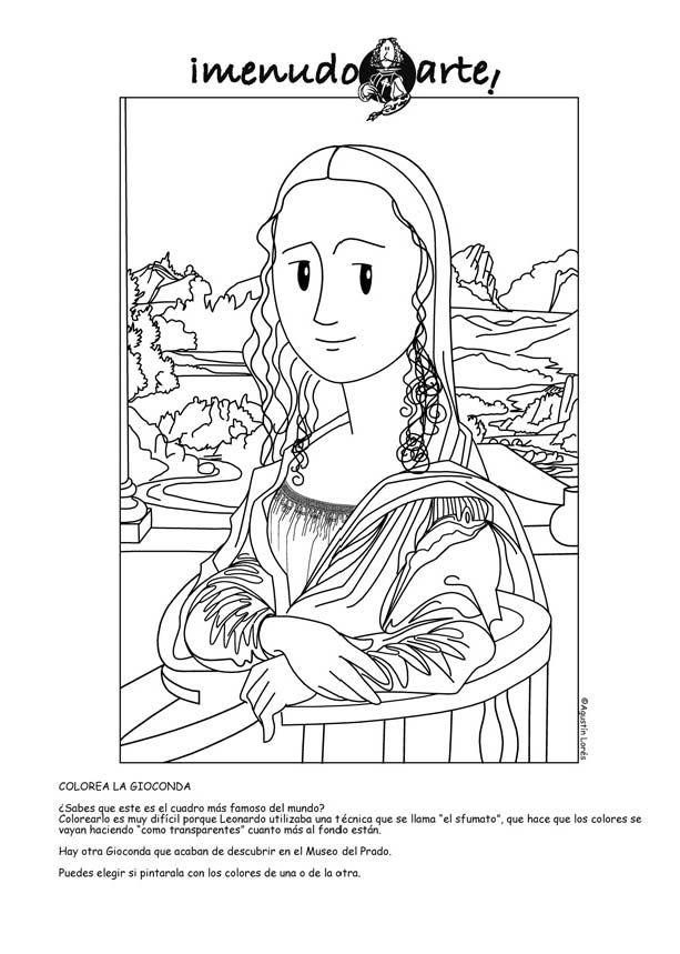 0050 | mad about the mona lisa | Pinterest | Mona lisa and Lisa