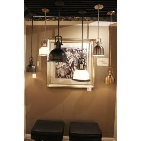 Murray Feiss Lighting P1147DBZ 1 Light Parker Place Pendant
