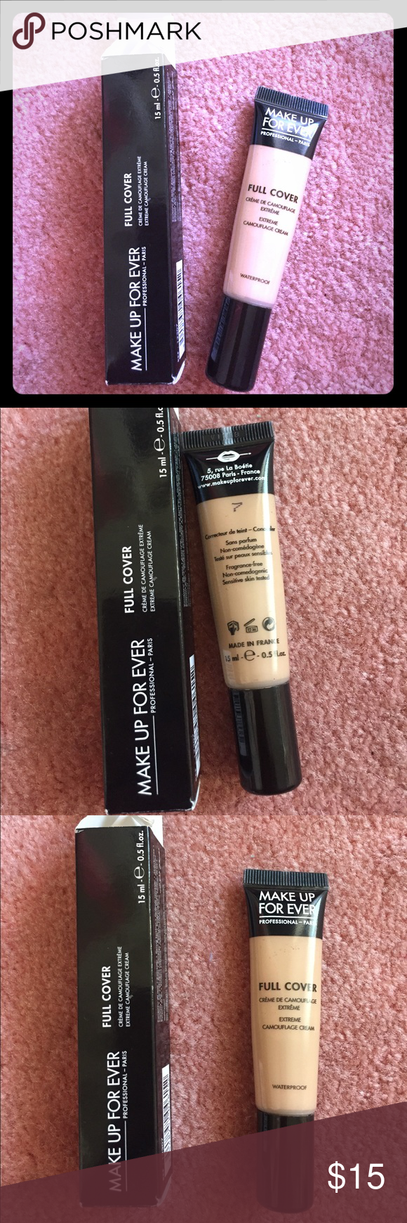 makeup forever concealer shade 7. used a handful of time