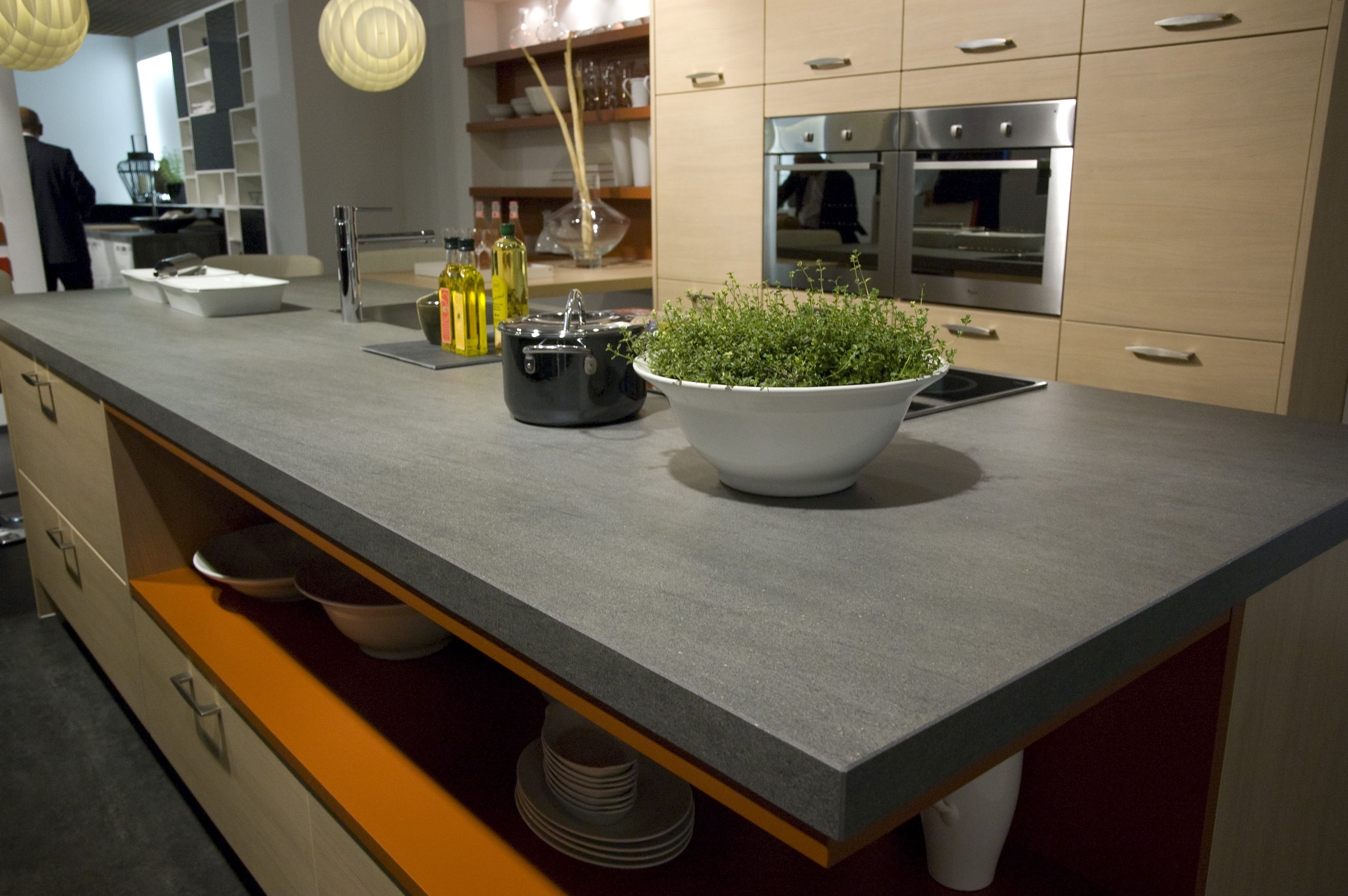 Neolith Basalt Grey Kitchen Counter Top