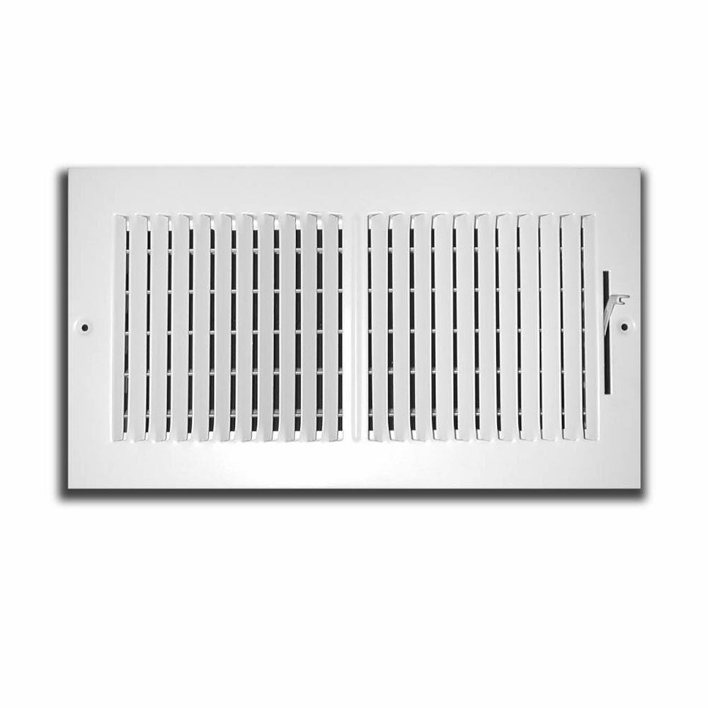 10 In X 8 In 2 Way Wall Ceiling Register Whites Home Depot Ceiling Ceiling Texture