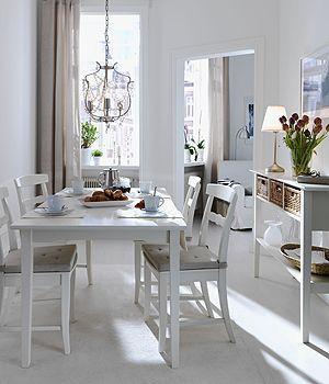esszimmer im skandinavischen stil esszimmer in beige und wei wohnen garten - Esszimmer Beige