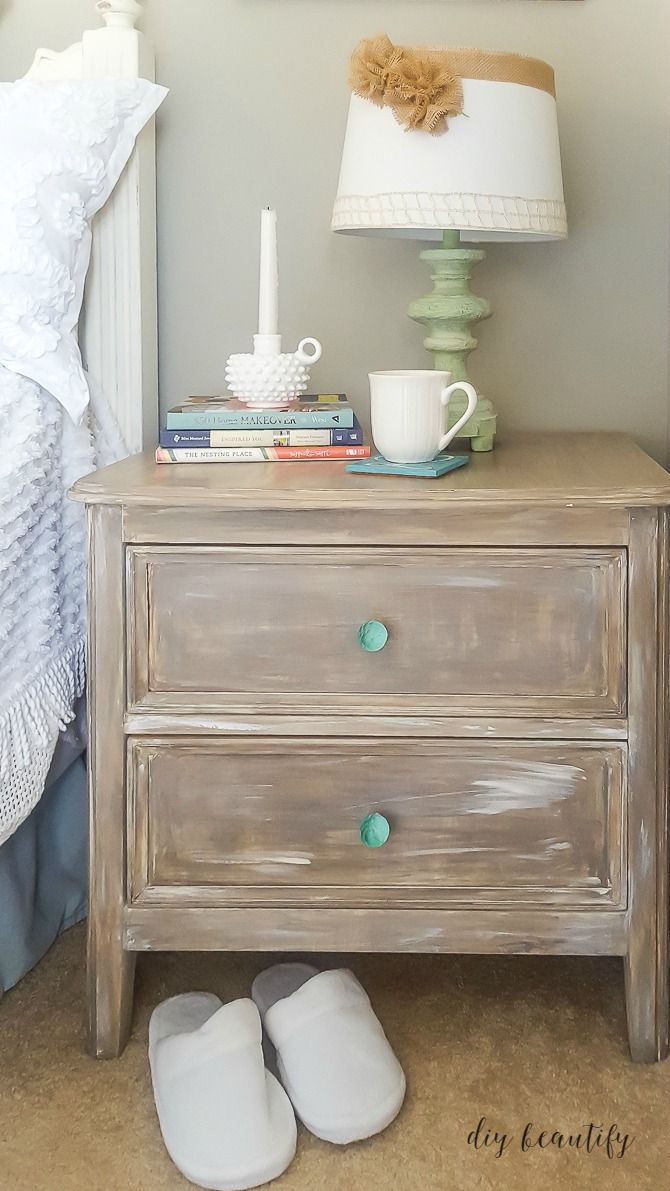 Find Out How To Transform Your Furniture With This Easy Driftwood Paint Treatment Tutorial At Diy Beautify
