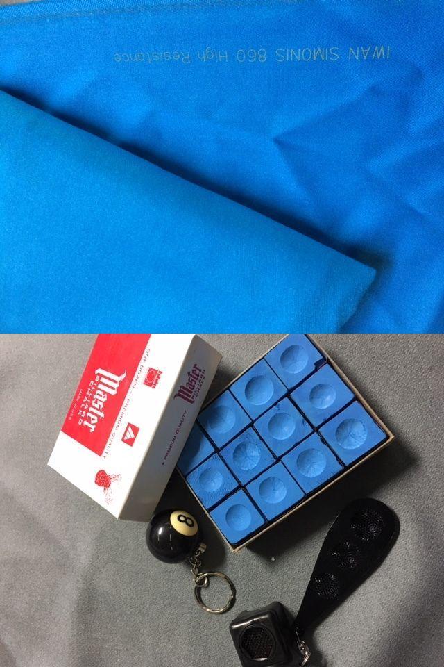 ddd8029b02f Other Billiards Accs and D cor 21210  9 Simonis 860Hr Tournament Blue Felt- Free