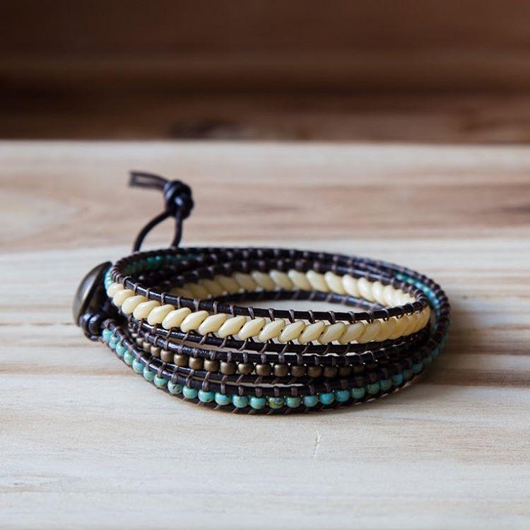 3 Rows wrap bracelet @forsomevan