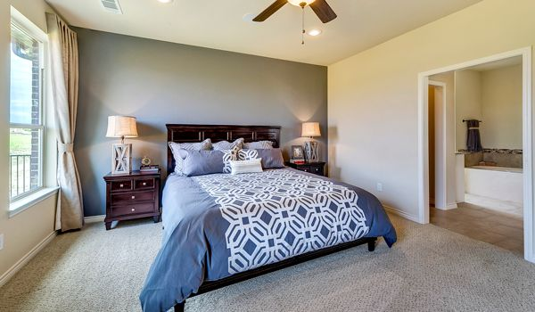 Here is another view of the Huntington's master bedroom layout, visit our Saginaw model to view this home! ^KL