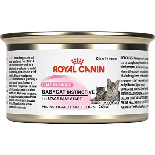 Royal Canin Canned Cat Foodmother And Kittens Babycat Formula1st Stage Loaf In Sauce Pack Of 24 3ounce Cans You Can Find Out More Detail Kitten Food Canned Cat Food Cat Nutrition