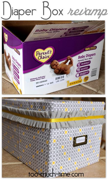 15 Diy Projects Knock Off Edition Crates Diapers And Box