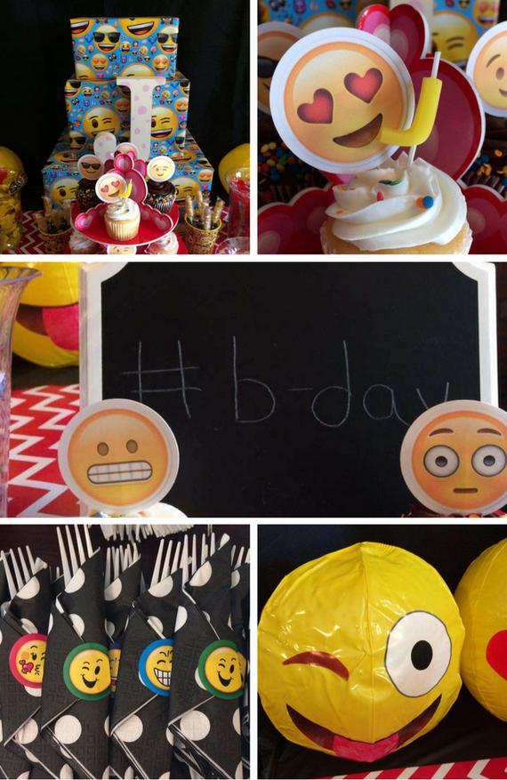 Emoji Party Inspirations Birthday Party Ideas For Kids Emoji Party Emoji Birthday Party Emoji Birthday