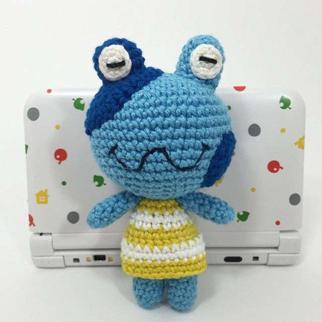 Jeremiah The Frog From Animal Crossing Crochet Craft