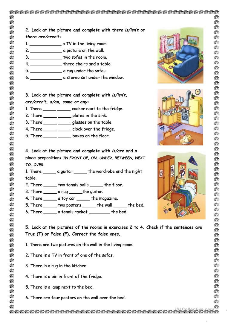 House And Furniture There Is Are Worksheet Free Esl Printable Worksheets Made By Teachers English Lessons For Kids English Lessons English Grammar