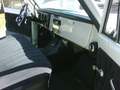 Chevy C10 Pickup Truck Interior Truck Interior Chevy Pickups Gmc Trucks