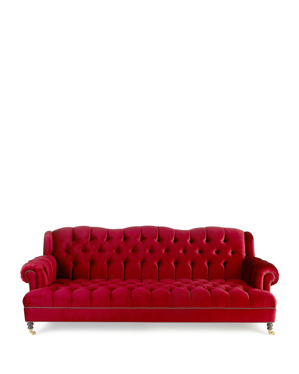 Incredible Haute House Mr Smith Cranberry Tufted Sofa 94 5 In 2019 Forskolin Free Trial Chair Design Images Forskolin Free Trialorg