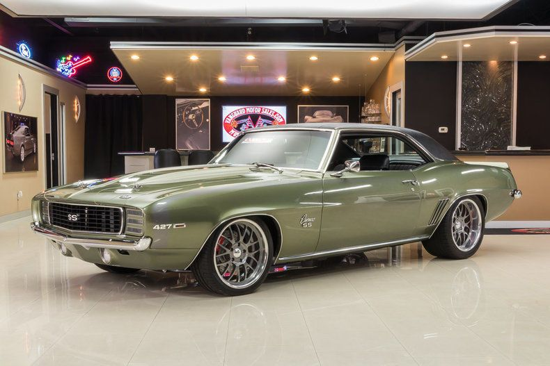 Great 1969 Chevrolet Camaro Pro Touring Pro Build! GM 427ci V8 EFI, Tremec 5-Speed, Mini-Tub, Wilwood, Art Morrison, A/C 2017/2018
