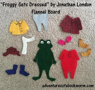 Froggy gets dressed by jonathan london felt board storytime froggy gets dressed by jonathan london felt board storytime winter adventures of a bookworm story time flannel boards pinterest visual aids pronofoot35fo Images