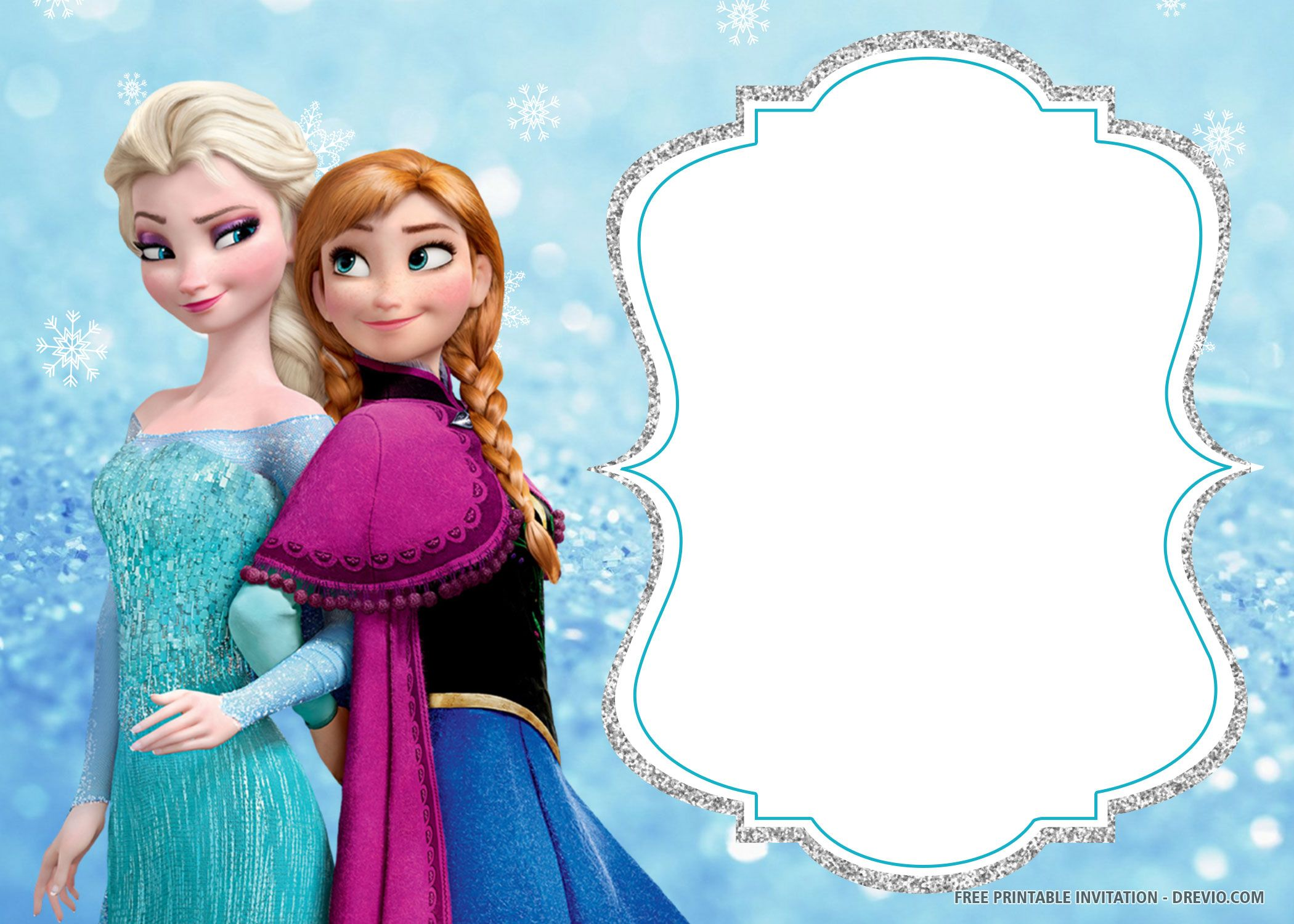 free printable frozen birthday