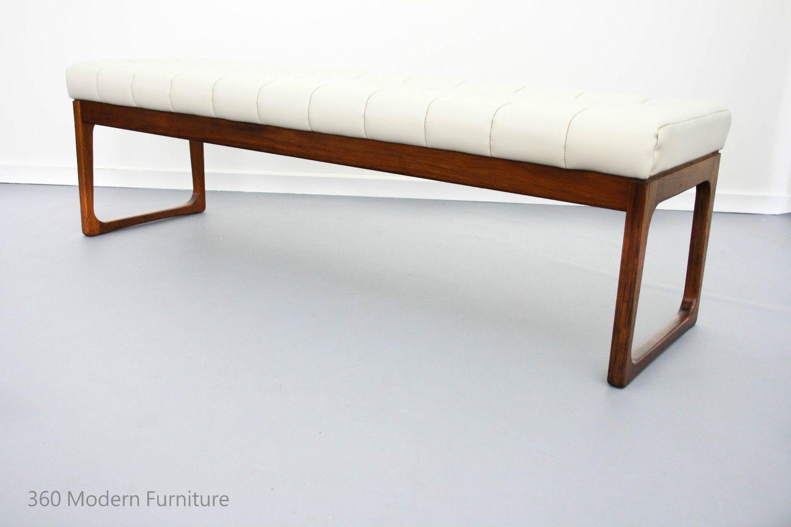Mid Century Bench Seat Module Easden Table Ottoman Retro Vintage Danish Scandi Ottoman Table Mid Century Bench Furniture