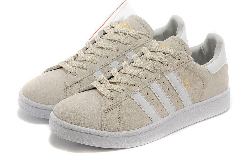 f5be3cb76687 Adidas Superstar 80s Vintage Deluxe Suede Shoes Beige White Gold ...