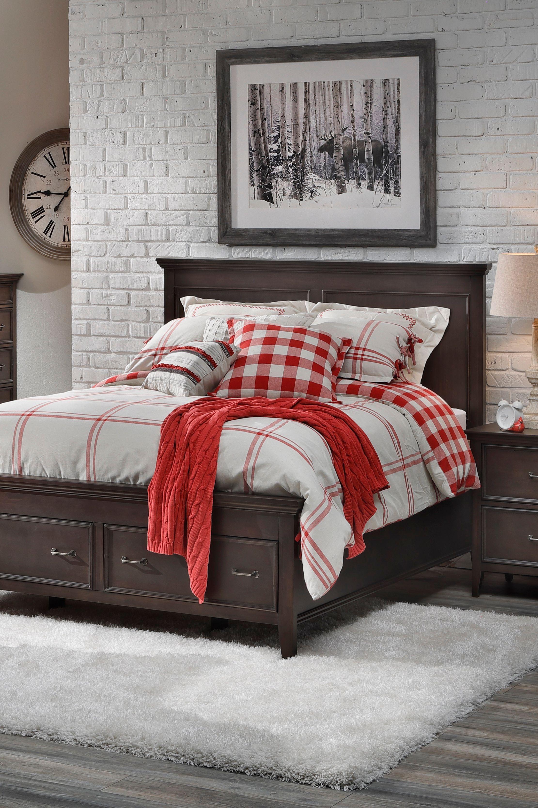 Sierra Storage Panel Bed Panel bed, Bed, Furniture