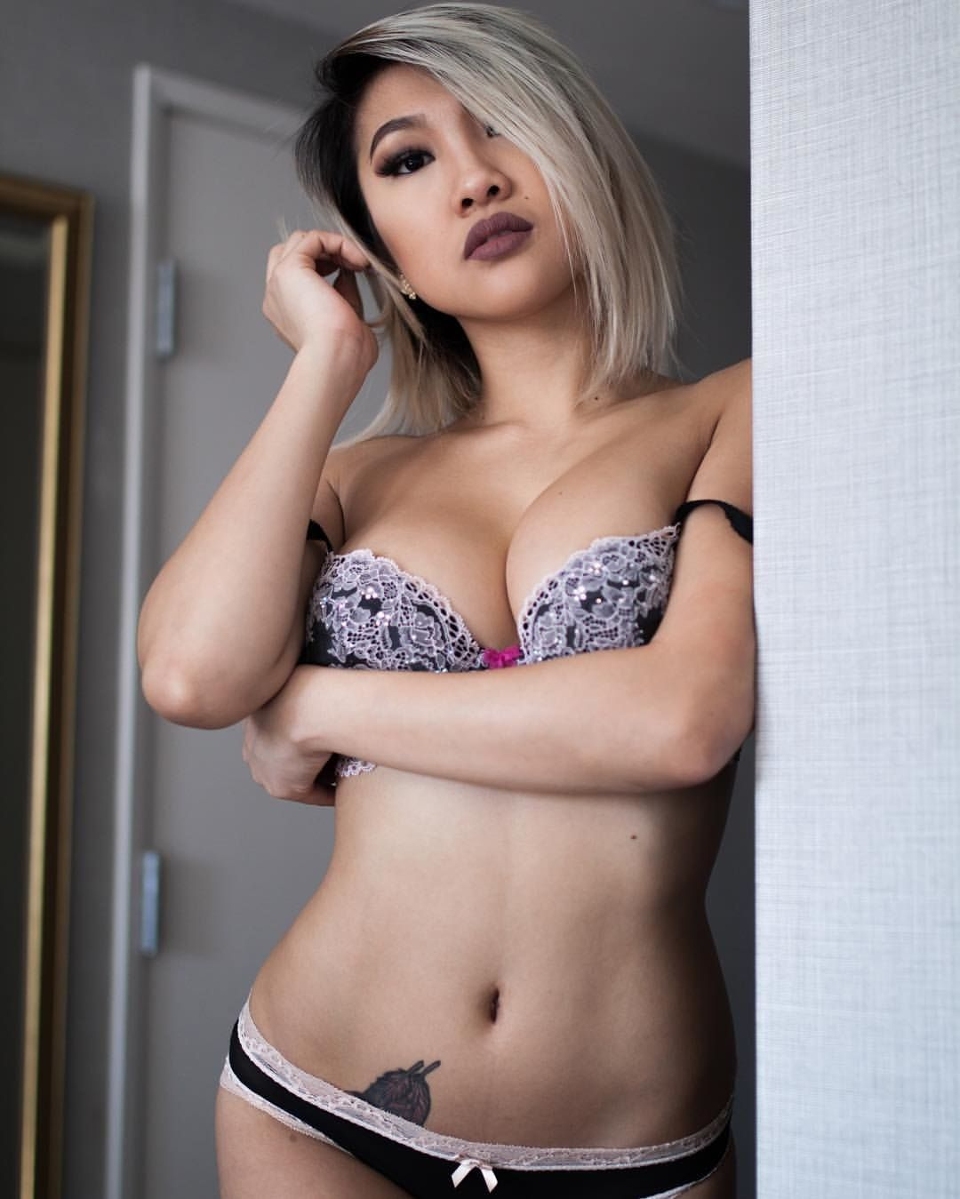 Gorgeous asians clothed consider, that