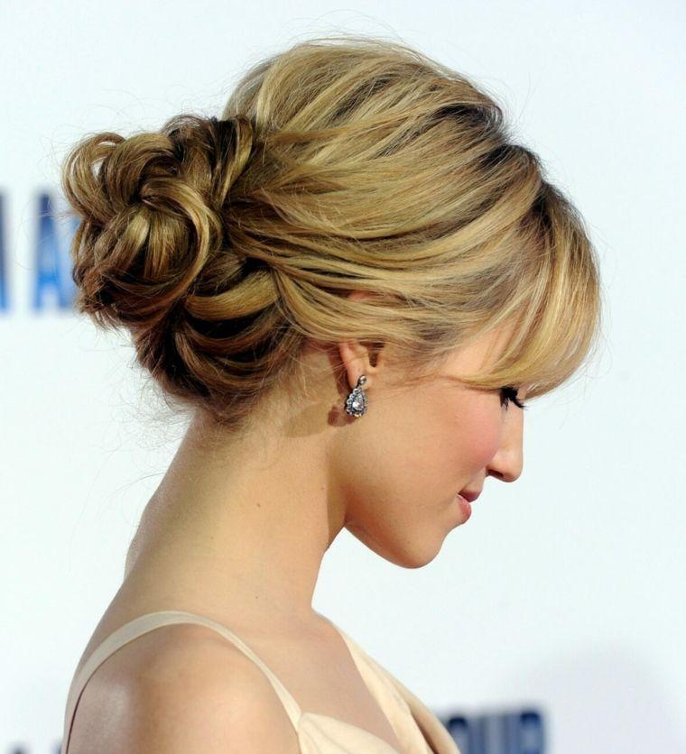 peinados de fiesta recogidos Belleza Pinterest