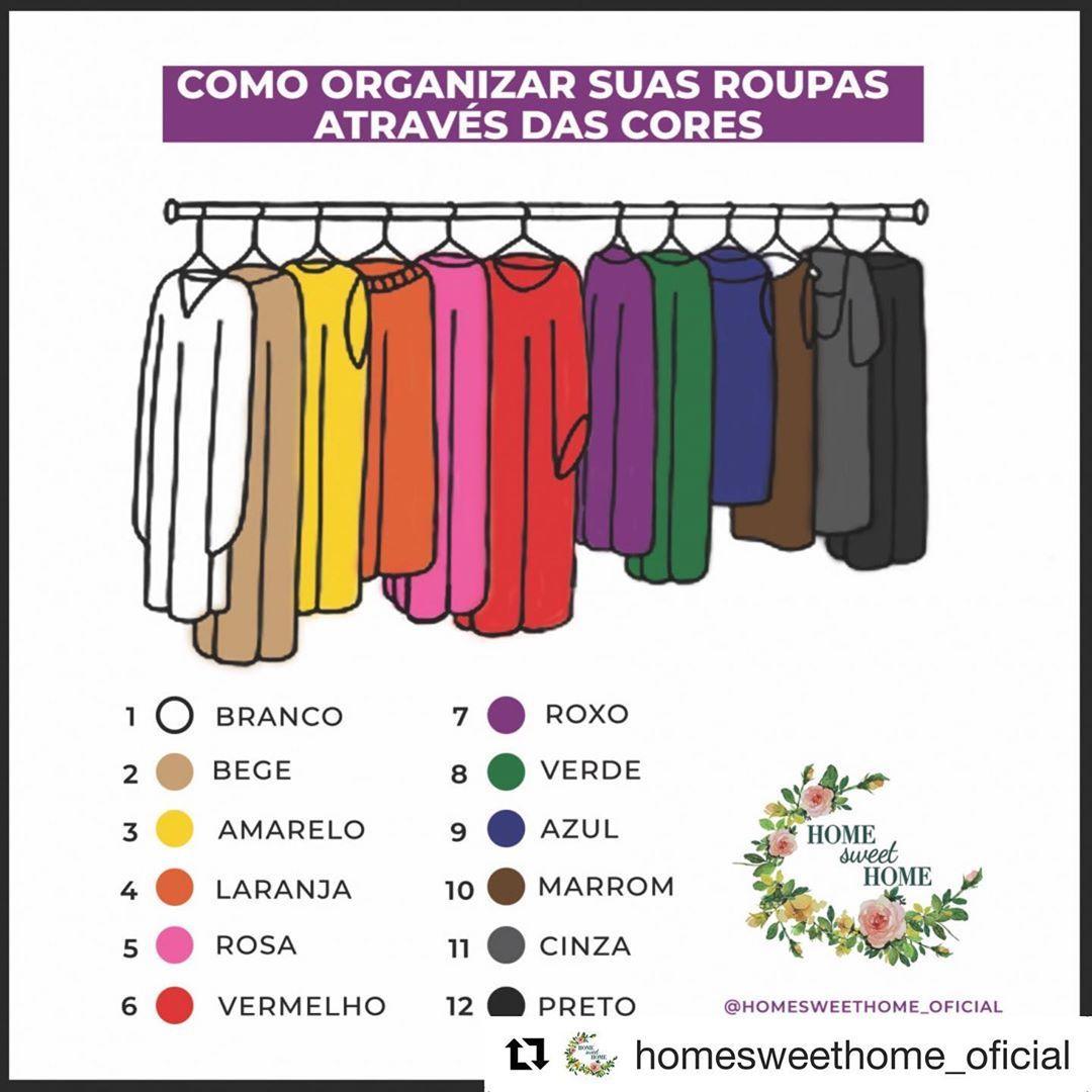 Pin De Glaucia Fernandes Em Organicao Organizacao De Roupas