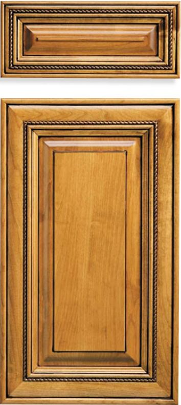 Applied Moulding Mitered Cabinet Doors