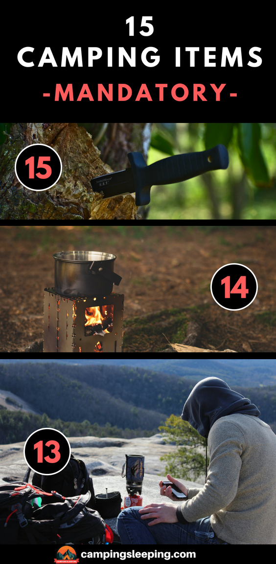 Photo of There are some must-have pieces of gear that every camper should own. They don…