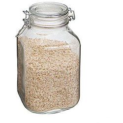 Canning jars for dry good storage