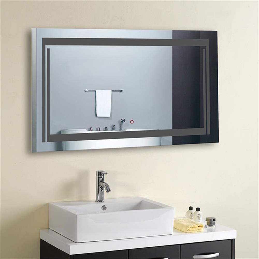 Decoraport 36 Inch 28 Inch Horizontal Led Wall Mounted Lighted