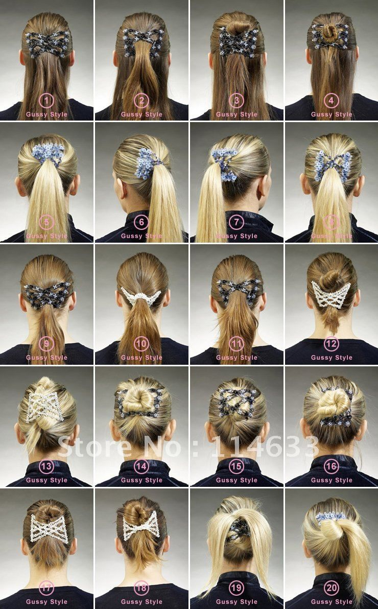 Pin by Ama Theo on makeup +hair   Hair comb clips, Hair ...