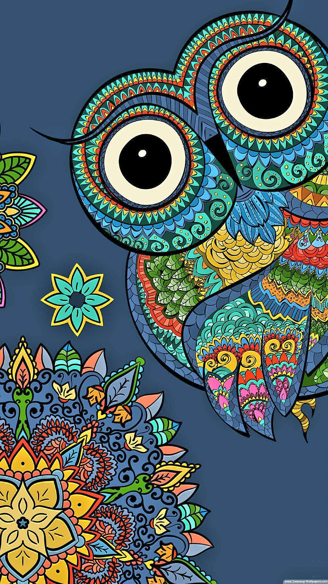 Pin By Sandy On Owl Cute Owls Wallpaper Owl Wallpaper